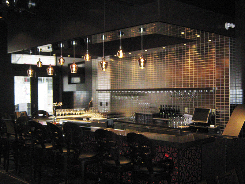 VARIOUS LIGHTING FROM JAZZ BISTRO